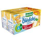 Blédina Blédidej saveur brioche 4x250ml dès 6 mois