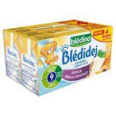 Blédina Blédidéj lait et céréales saveur pain chocolat 4x250ml 9mois