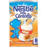 Nestlé Nestlé P'tite céréale au miel en poudre dès 8 mois 400g
