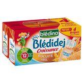 Blédina Blédidéj croissance biscuité au miel 4x250ml dès 12mois