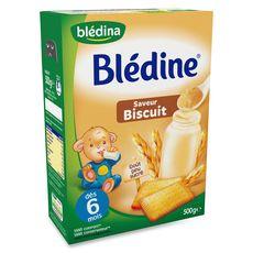 BLEDINA Blédine biscuitée en poudre 500g dès 6 mois