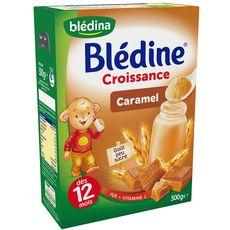 Blédine croissance caramel et lait en poudre 500g dès 12mois