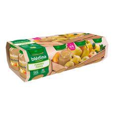 BLEDINA Blédina Petit pot dessert pommes poires dès 4 mois  8x130g 8x130g