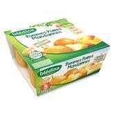 Blédina blédi pomme poire mandarine dès 8 mois 4x100g