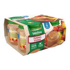 BLEDINA Blédina pot pomme fraise 4x130g dès 6 mois