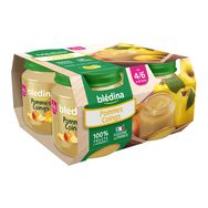 Blédina pot pomme coing 4x130g dès 4 mois