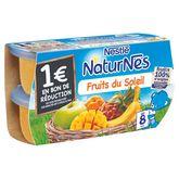 Nestlé Nestlé Naturnes fruits du soleil 4x130g dès 8 mois