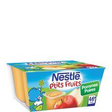 NESTLE Nestlé ptit pot pomme poire 4x100g dès 4/6mois
