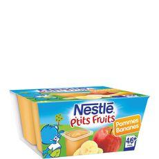 NESTLE Nestlé ptit pot pomme banane 4x100g dès 4 mois
