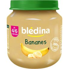 BLEDINA Blédina banane pot 130g dès 4/6 mois