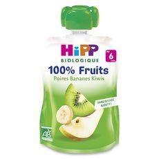 HIPP Hipp bio gourde poire banane kiwi 90g dès 6 mois