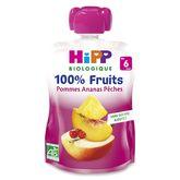 HiPP gourde pomme ananas pêche 90g dès 6 mois