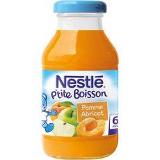 Nestlé jus de pomme et abricot 20cl dès 4/6mois