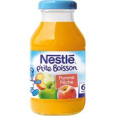 Nestlé jus de fruits pomme pêche 20cl dès 6 mois