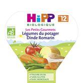 HiPP légumes dinde romarin assiette 230g 12mois