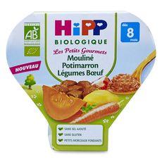 HIPP Hipp bio mouliné potimarron légumes boeuf 200g dès 8 mois