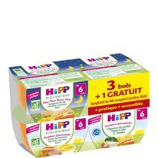 HIPP Hipp spaghettis carotte maïs colin bio 4x190g dès 6mois
