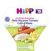 HiPP petits macaroni tomates colin alaska 260g 18 mois