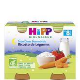 HiPP risotto de légumes 2x190g dès 8mois