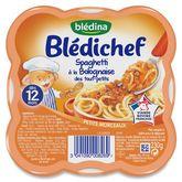 Blédina spaghettis à la bolognaise 230g dès 12 mois