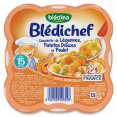 Blédina cassolette de légumes pdt poulet 250g dès 15mois