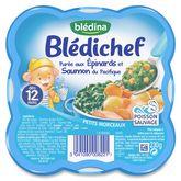 Blédina purée aux épinards et saumon 230g dès 12 mois