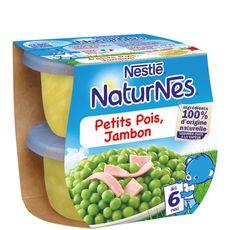 Nestlé Nestlé Naturnes petits pois jambon 2x200g dès 6 mois