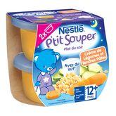 Nestlé ptit souper crème de légumes et pâte 2x200g dès12mois