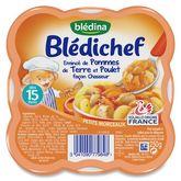 Blédina émincé pomme de terre poulet chasseur 250g 15mois