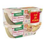 Blédina idées de maman bols légumes poulet 4x200g dès 8mois
