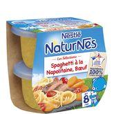 Nestlé Naturnes spaghettis à la napolitaine boeuf dès 8mois 2x200g