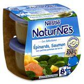 Nestlé Naturnes épinards saumon pommes de terre dès 8 mois 2x200g
