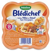 Blédina pâtes boeuf bourguignon 260g dès 18mois