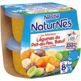 Nestlé Naturnes légumes pot au feu et fines herbes 2x200g dès8mois