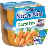 Nestlé naturnes carottes 2x130g dès 4 mois
