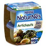 Nestlé naturnes artichauts 2x130g dès 4-6 mois