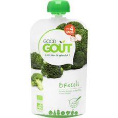 GOOD GOUT Gourde de brocoli bio dès 4 mois 120g