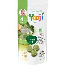 WOLFBERGER Yooji bio purée lisse brocolis 240g dès 4mois