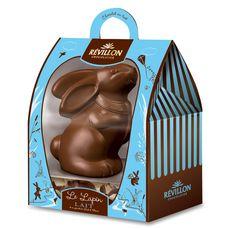 REVILLON CHOCOLATIER Le Lapin en chocolat au lait 300g
