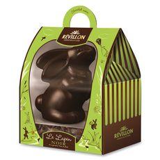 REVILLON CHOCOLATIER Le Lapin en chocolat noir  300g