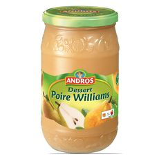 ANDROS Andros dessert compote de poires 750g