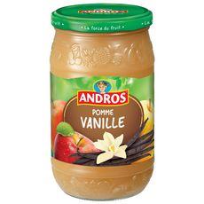 Andros dessert de pomme vanille bocal 750g