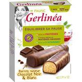 Gerlinéa barres de régime hyperprotéinées chocolat x12 -372g