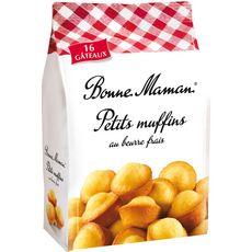 Bonne maman Les Petits Muffins nature 235g