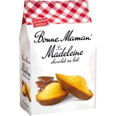 Bonne Maman madeleines au chocolat lait 300g