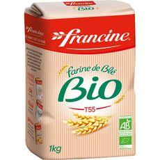 Francine farine de blé bio 1kg
