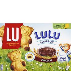 Lu oursons chocolat x10 - 300g