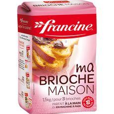 FRANCINE Francine farine pour pain au lait et brioche 1,5kg 1,5kg