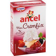 Ancel mon cremfix 3 sachets 30g