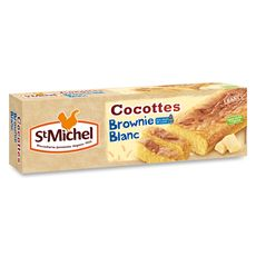 St Michel cocottes brownies chocolat blanc 240g